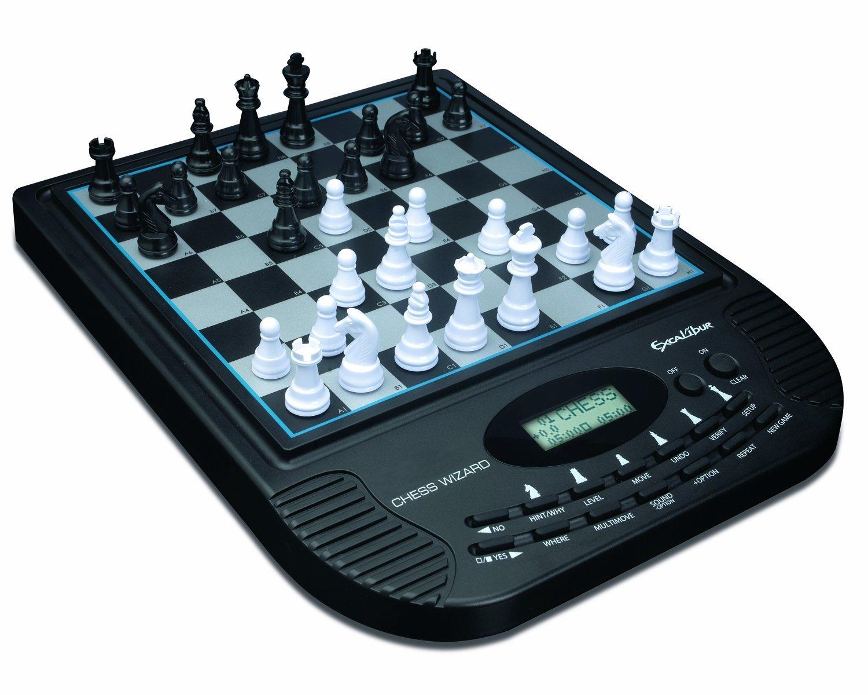 数量は多 Electronic Chess Wizard Game Wizard Game [並行輸入品] Chess B01M24DD0U, WOODNET:ad0390d4 --- cygne.mdxdemo.com
