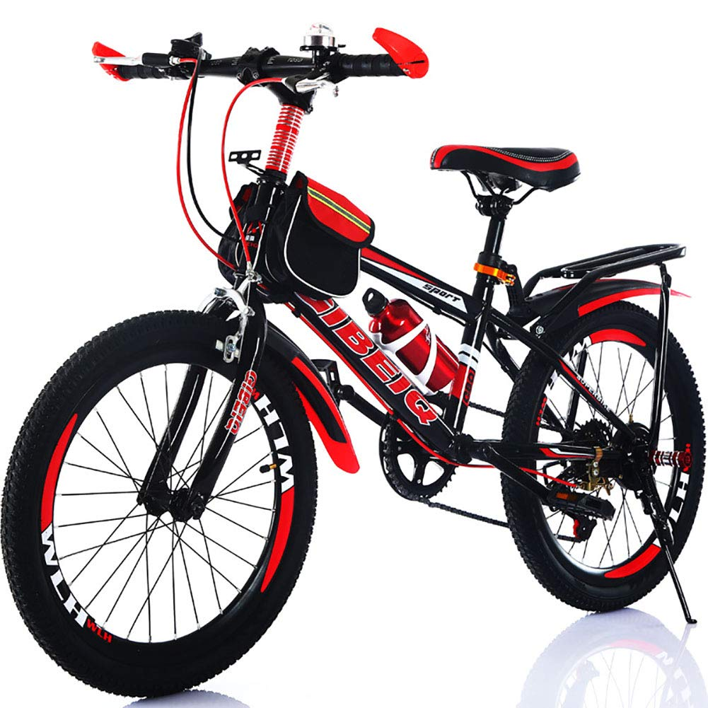 comprar mejor rojo FJW FJW FJW Bicicleta de montaña Unisex 7 Velocidad Marco Ultraligero Acero de Alto Carbono Ciudad del Viajero Bicicleta 20 Pulgadas 22 Pulgadas 24 Pulgadas Bicicleta de Cola Dura,verde,20Inch 20Inch  Todos los productos obtienen hasta un 34% de descuento.