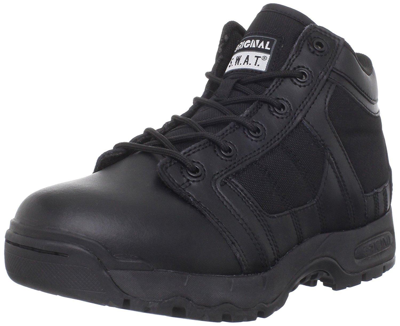 Original S.W.A.T. Men's Metro Air 5 Inch Side Zip Tactical Boot,Black,10 M US by Original S.W.A.T.