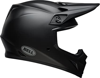 Amazon.com  Bell MX-9 MIPS Equipped Motorcycle Helmet (Solid Matte Black 53fa713d62606
