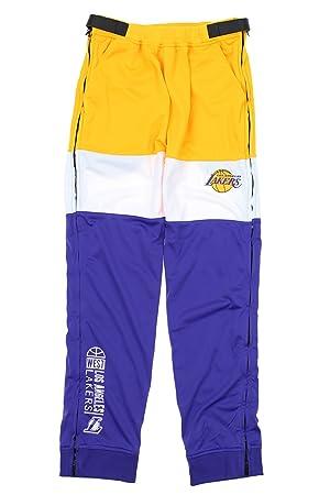 Los Angeles Lakers NBA estadio deportivo para hombre tear-away pantalones, color morado,