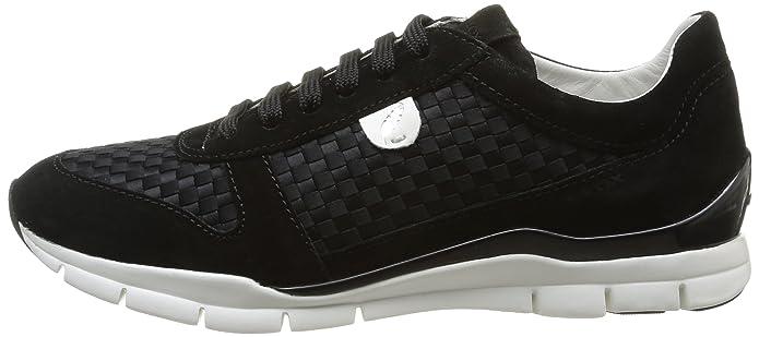 Donna Camoscio D Scarpe Geox Sportive Sukie Shoes A Amazon