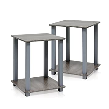 simplistic end table french oak grey set furniture benches lamp tables nz dining cape town