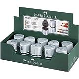 Faber-Castell Trio Pencil Sharpener Tub Box GRIP 2001 Silver