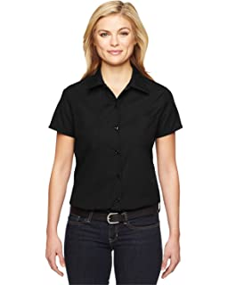 6f3996979 Amazon.com: Dickies Women's Short-Sleeve Work Shirt: Clothing