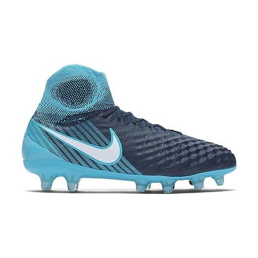 Nike Magista Obra II FG Soccer Cleats Platinum NWT