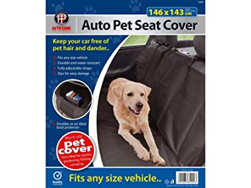 Fifth Gear Waterproof Protective Rear Auto Car Seat Dog Pet Cover
