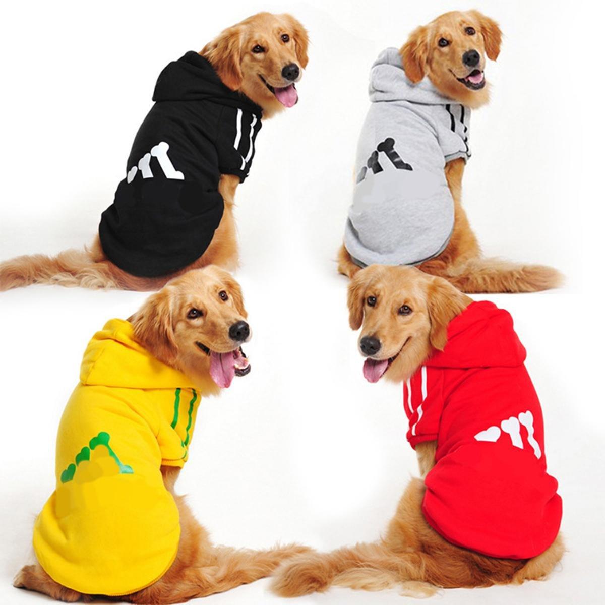 shanzhizui Cani di grossa taglia Maglione in pile Golden retriever Labrador Grandi vestiti per cani, red, 7xl wexe.com