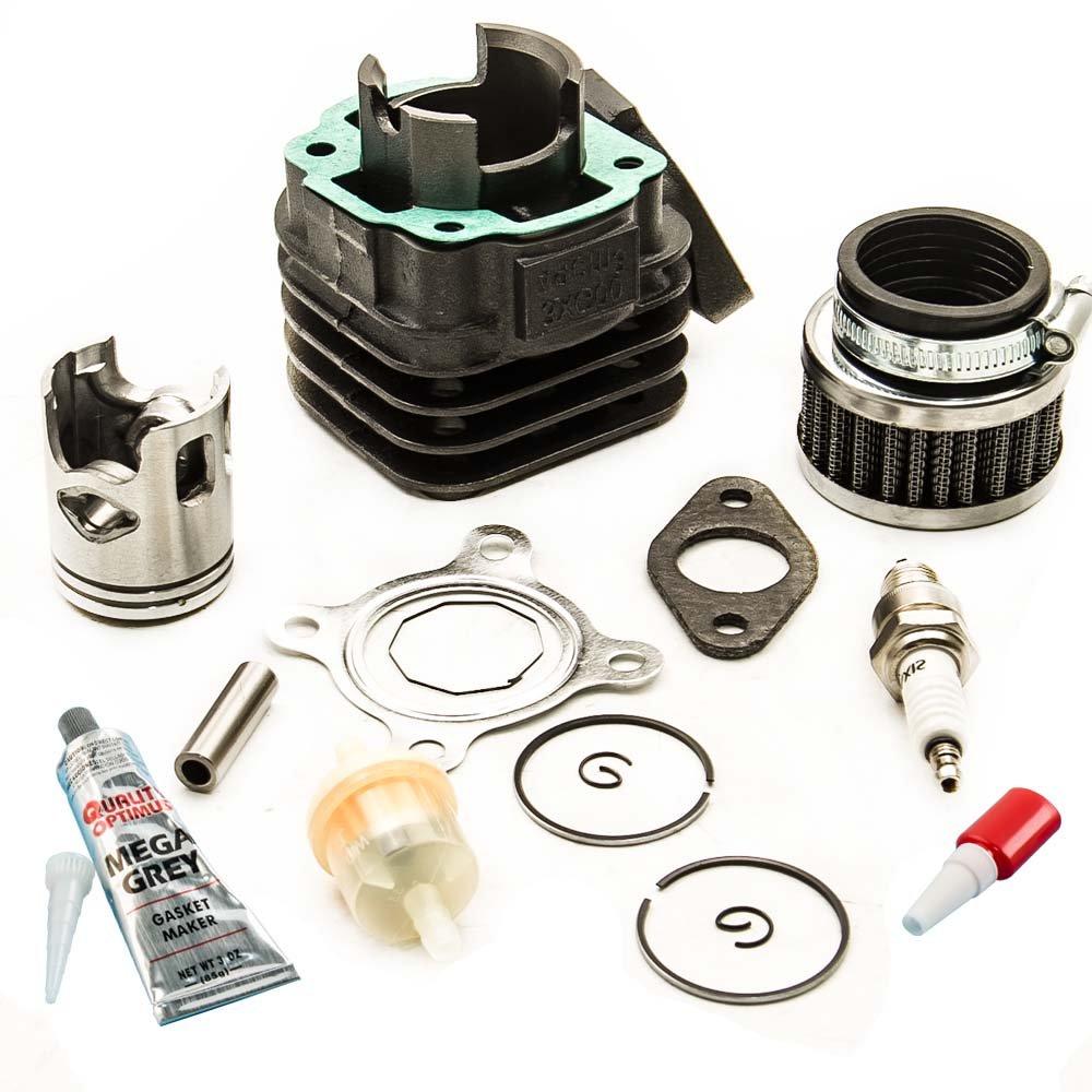 maXpeedingrods Cylinder Piston Kits for Polaris Scrambler Predator 50cc
