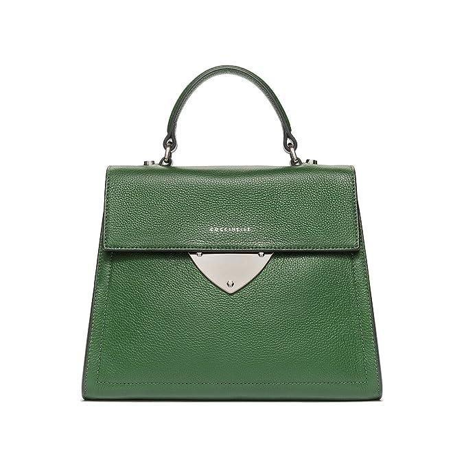 81e03abe60 Coccinelle B14 Borsa a manico verde: Amazon.it: Abbigliamento