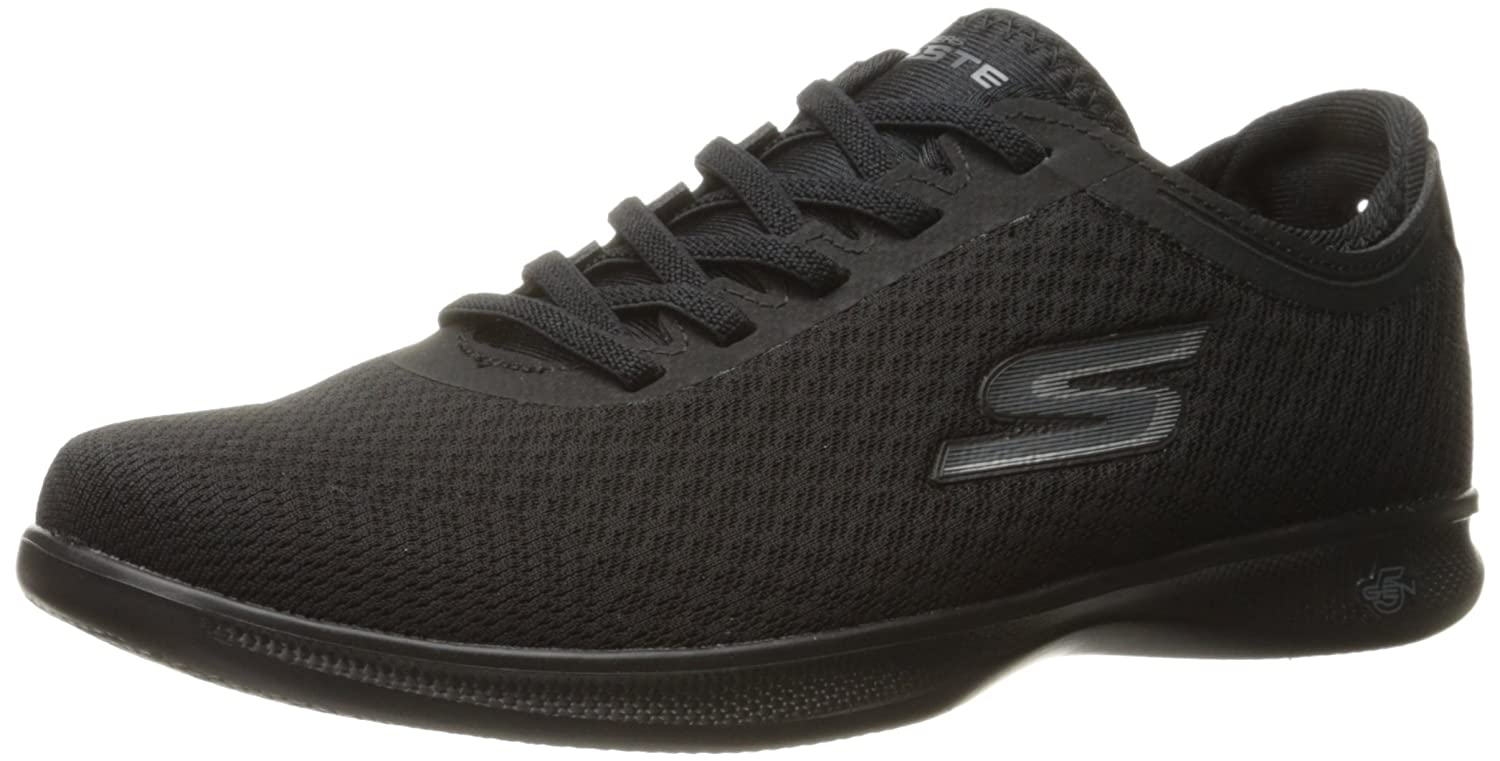 Skechers Damen Go Step Lite-Interstelllar Sneaker  6.5 B(M) US|schwarz