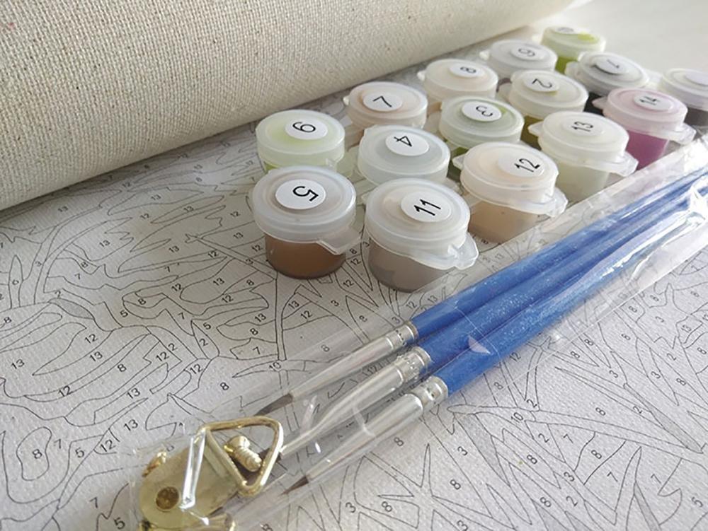 Malen nach Zahlen Kits Diy Leinwand Ölgemälde für Kinder, Studenten ...
