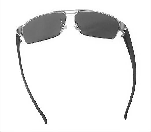 b39f8da1be Amazon.com  XXL extra large Classic Pilot Polarized Sunglasses for big wide  heads 150mm by ATX Optical (Silver