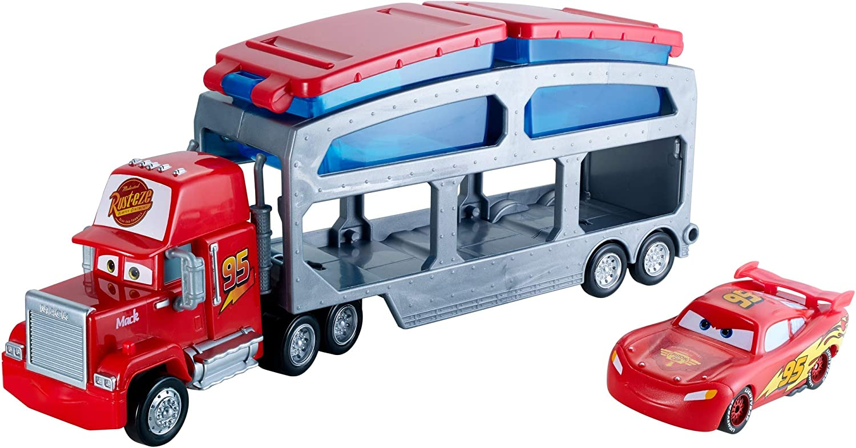 Disney Cars color change transportador de coches de juguete (Mattel CKD34)