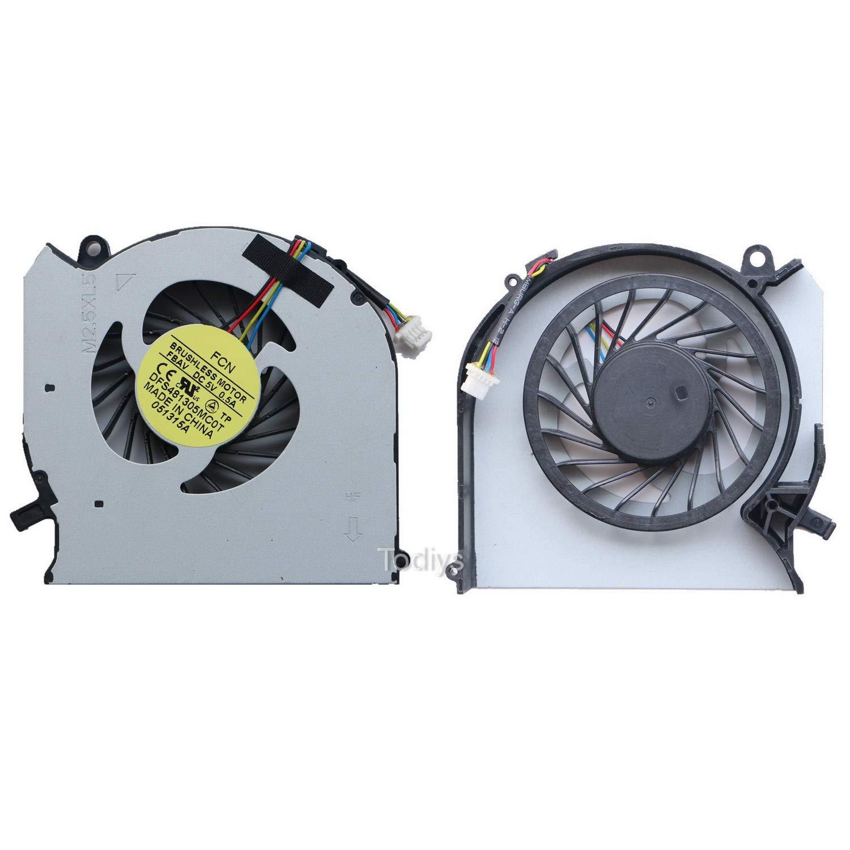 Cooler para HP Pavilion DV6-7000 DV6T-7000 DV7-7000 Series DV6-7043CL DV6-7135NR DV6-7229WM DV7-7012NR DV7-7128NR DV7-72