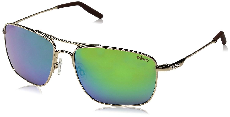 83aa284bf63 Amazon.com  Revo Unisex Unisex RE 3089 Groundspeed Rectangular Polarized UV  Protection Sunglasses  Clothing