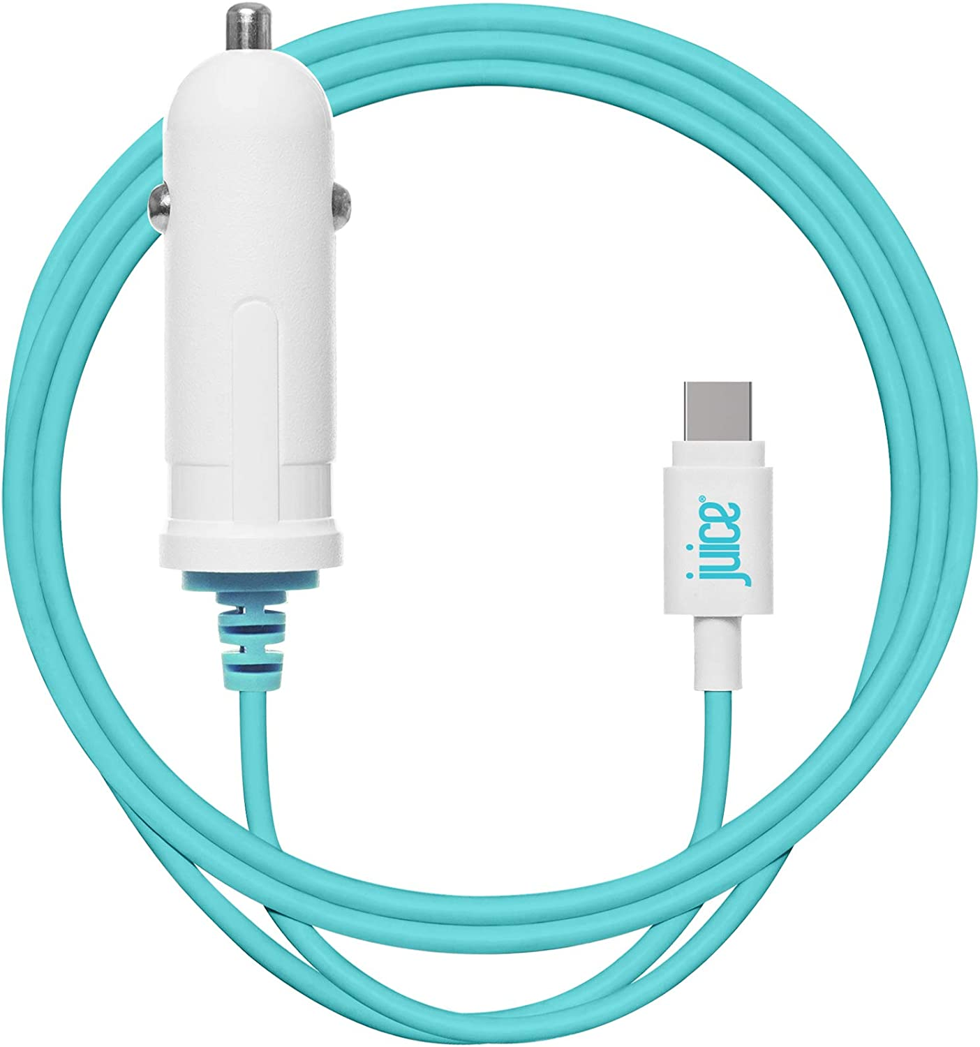 2.4A Juice USB Type-C Powerful Mobile Phone /& Tablet in Car Charger