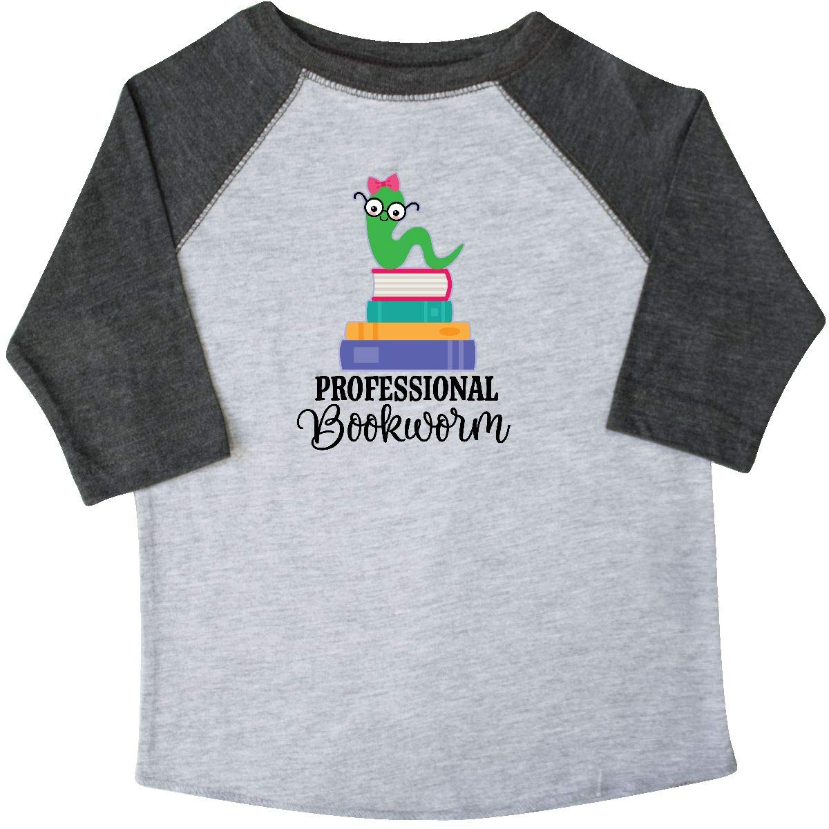 inktastic Professional Bookworm Gift Toddler T-Shirt