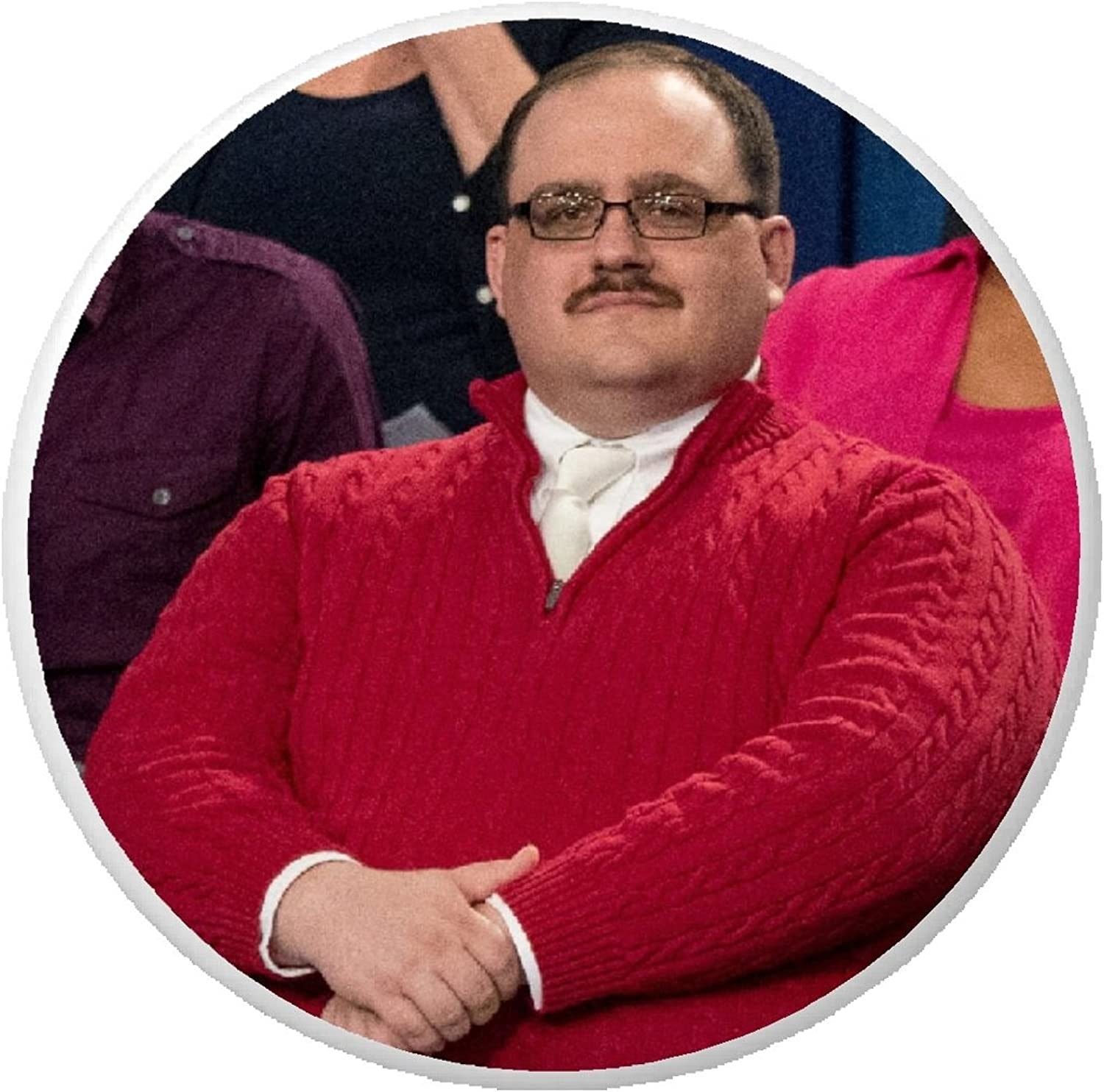 Amazon.com: Ken Bone at Presidential Debate in Red Sweater Pinback ...