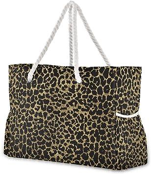 Beach Tote Gold Bag Golden Bag Book Bag Side Bag Vegan Hand Bag Tote Bag Women Tote Shopping Bag Waterproof Tote Bag Market Tote