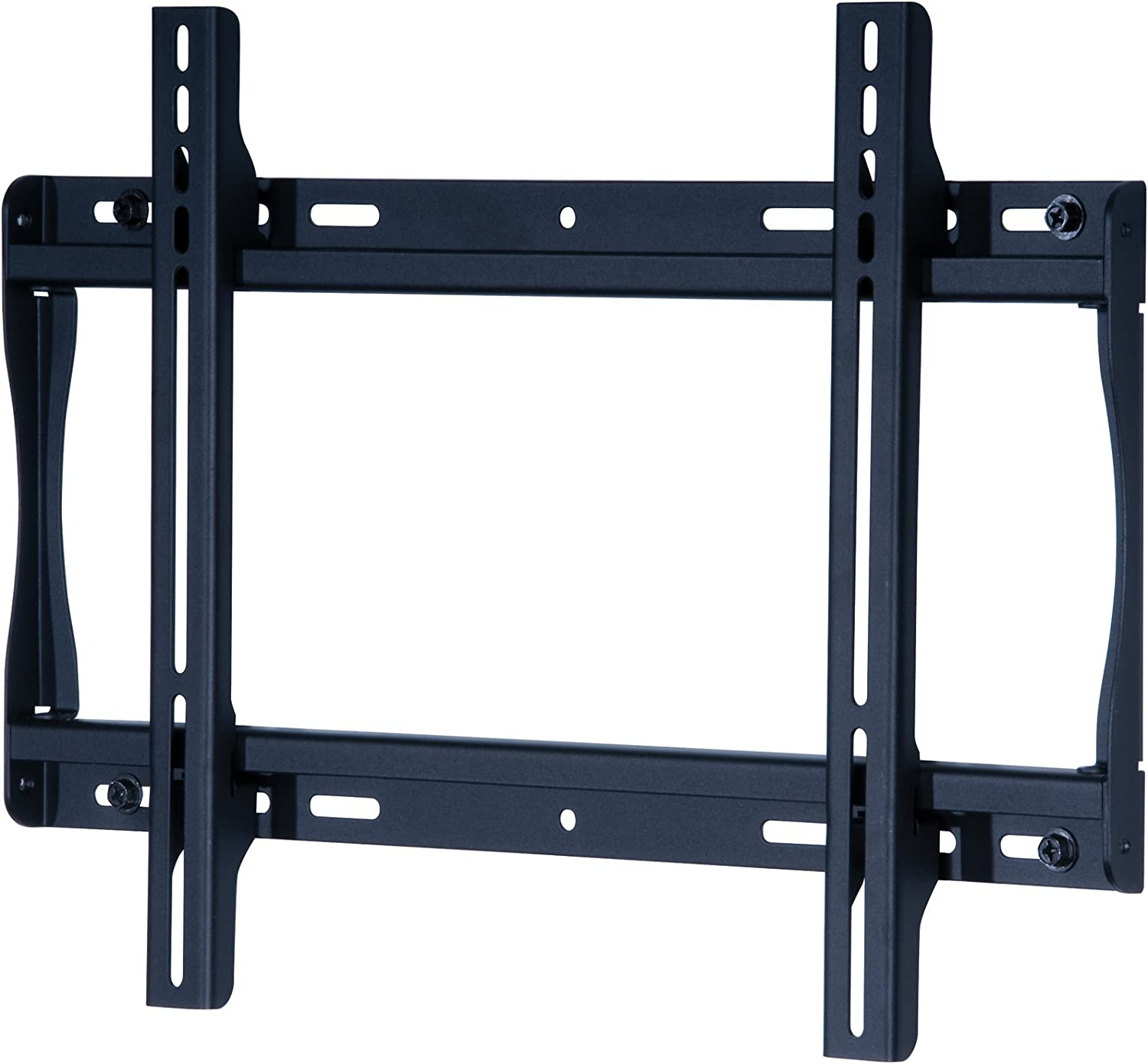 Peerless SF640 Universal Fixed Low-Profile Wall Mount for 32 Inch to 50 Inch Displays Black