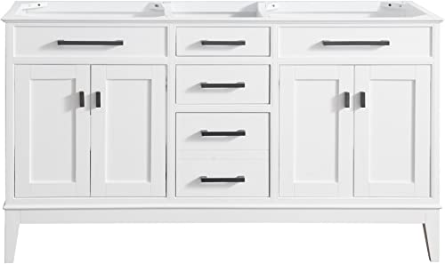 Avanity Madison 60 in. Double Sink Vanity Only