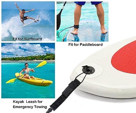 Water Sports Surfing Accessories Sea Surfboard Leash Kayaking Canoe Ankle Leash