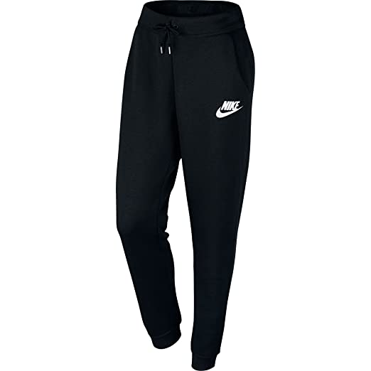 select for latest look good shoes sale super cheap compares to Amazon.com: Nike Womens Rally Sweatpants Black/White 828605 ...