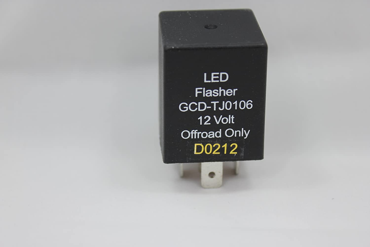 2005 JEEP TJ WRANGLER LED FLASHER RELAY FOR CHANGING TO LED TAIL LIGHTS GCD GCD-0106-LED