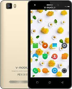Moviles Libres Baratos 4G,8Pcs V Mobile A10 5.0 Pulgadas 8GB ROM ...