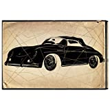 Porsche Print by Hatcher and Ethan x Oliver Gal