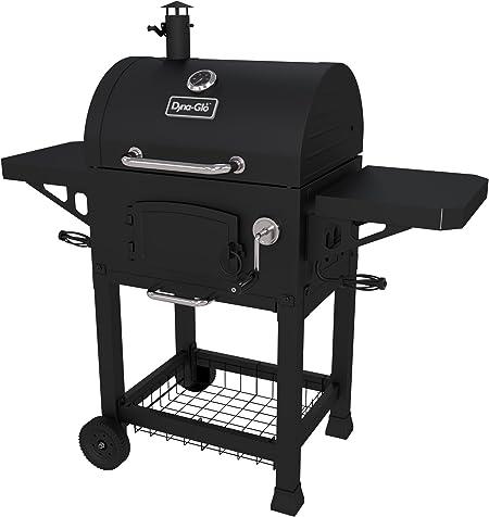 Barbecue charbon de bois Zack en acier noir avec four | noir