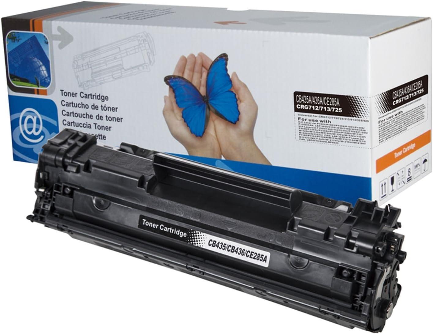 1x Starlet24 Toner Kompatibel Mit Hp Laserdrucker Laserjet Serie P1005 1009 P1100 1108 P1505 M1002 M1120 M1130 1132 M1136 M1210 M1212 M1217 M1522 Bürobedarf Schreibwaren