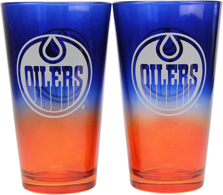 Arizona Coyotes NHL 16 oz 2-Tone Pint Glass Set