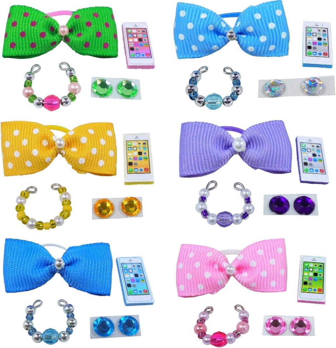 2 Tutus 2 Bows LPS Accessories Clothes Littlest Pet Shop Lot 1 Gift Bag RANDOM Set of 2 Necklaces