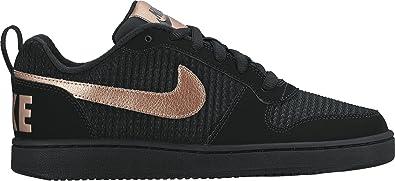 best website 4bde5 83fb9 Nike Womens Court Borough Low Premium Black