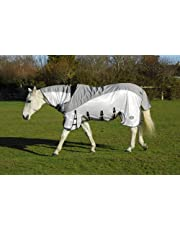 Rhinegold Masai3 Full Neck Fly rug with Waterproof Topline and Side Skirts