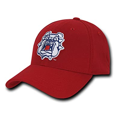 93d75b18b6e Image Unavailable. Image not available for. Color  University Fresno State  Bulldogs CSUFRESNO NCAA Flex Baseball Fitted Fit Ball Cap Hat