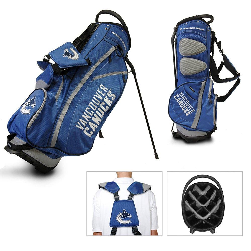 Amazon.com: Team Golf Vancouver Canucks NHL Stand Bag ...