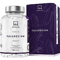 Magnesium Supplement [ 1561 mg ] - 180 Capsules - Malaat, Citraat, Chelaat Bisglycinaat, Tauraat & Oxide - Hoge Potentie…