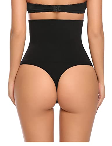 Yulee Mujeres de alta cintura Shapewear Full Breve Firme Control de la barriga adelgazar