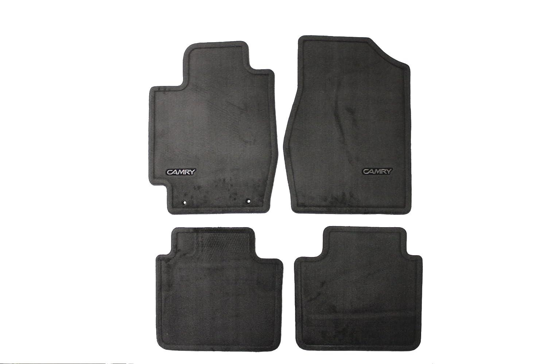 Gray Set of 4 Genuine Toyota Accessories PT208-32020-01 Custom Fit Carpet Floor Mat -