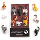 Cat Butt Refrigerator Magnets for Cat Lovers Home and Office Decorations