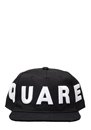 DSQUARED2 - BCMOO25 05C00001 D2 Baseball Cap in Black  Amazon.co.uk ... 865449168aa