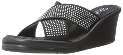 Rumblers Metal Mama, Womens Heels Sandals Skechers