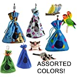 Cozy Sleeper Hideaway / Nesting Pouches for Your Small to Medium-sized Pets (Birds and Mammals)