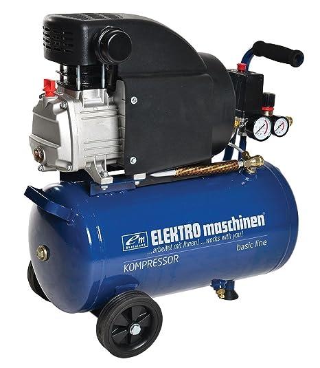 REM Power 24 litros profesional Taller Compresor De Aire S 241/8/24 Serie