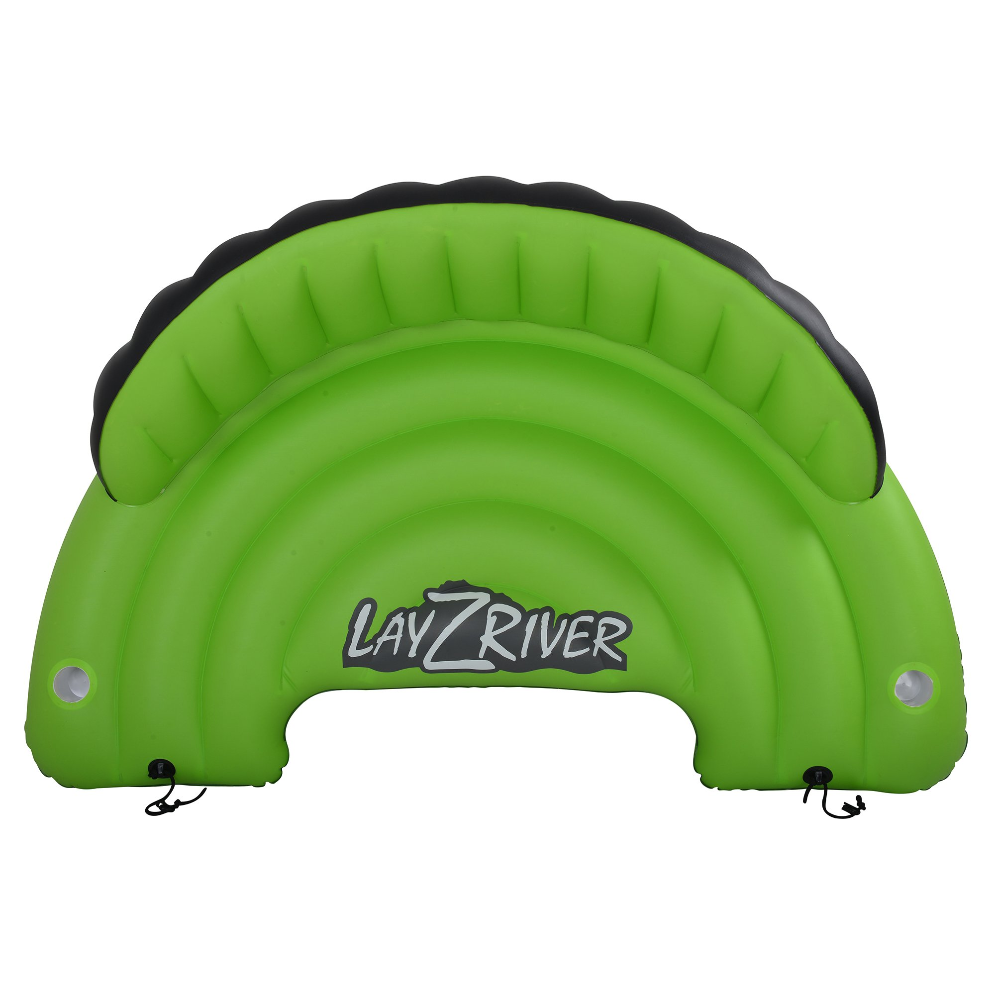 Blue Wave Sports Lay-Z-River Inflatable Sofa, Green/Black by Blue Wave Sports (Image #2)