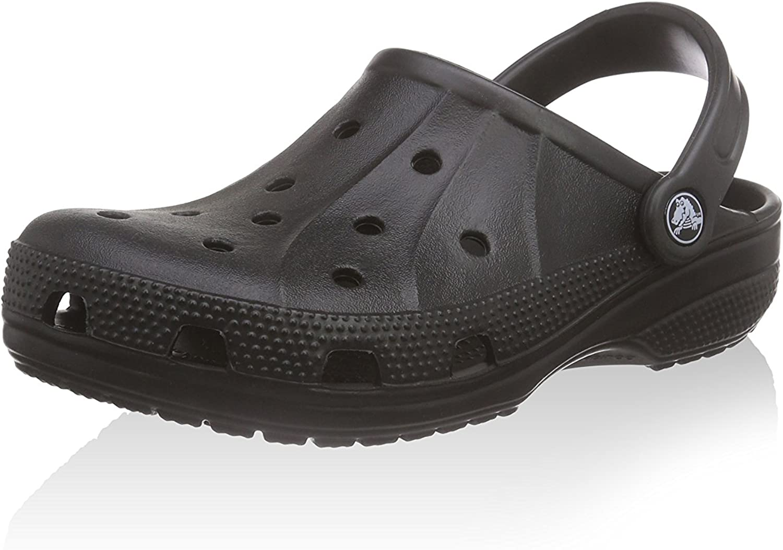 Crocs Ralen Clog Black Roomy Fit Size (M 7, W 9)