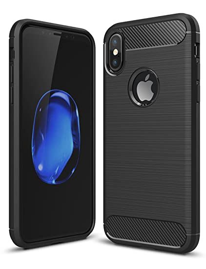 the latest 2864e bd82a Slim iPhone X Case, Apple Cell Phone Cover: Never Break Your Smartphone  Again! Mobile Device Protector for Men & Women, Textured Anti-Slip Defender  ...
